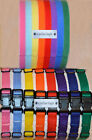 CollarSafe - PUPPY ID COLLAR SET - Nylon Collars & Velcro Whelping Litter Bands