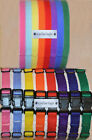 DELUXE PUPPY ID COLLAR SET - Nylon Collars & Velcro® Identification Litter Bands