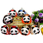 "8/16/24/48PCS Wholesale Mixed PANDA Coin Bag Change Purse Wallet 3.5x3.5"" SNA048"
