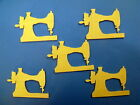 5 birch ply wooden antique singer sewing machine shape bunting gift tag shape