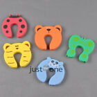 3 Baby Cute animal Cartoon Style Door Stop Finger Pinch Safety Guard NEW