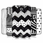 HEAD CASE DESIGNS BLACK AND WHITE DOODLE CASE FOR GALAXY TAB 3 7.0 P3200 T210