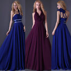 2014 Grace Karin Womens Evening Party Balls Prom Formal Long Blue Perfect Dress