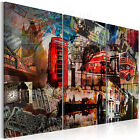 TOP VLIES LEINWAND BILDER XXL KUNSTDRUCK BILD WANDBILD LONDON 030117-1