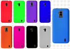 For Straight Talk ZTE Solar Z795G Rubber SILICONE Soft Gel Skin Case Phone Cover