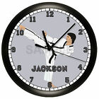 KARATE WALL CLOCK PERSONALIZED GIFT WALL DECOR SPORTS MARTIAL ARTS TAE KWON DO