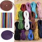 10/100Y Leather Rope Cord Suede Lace Velvet Thread Bracelet Necklace Findings