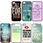 Marilyn Monroe Quotes For iPhone 4 4S 5 5G 5S 5C Best Case Hard Back Skin Cover
