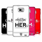 HEAD CASE DESIGNS HIS PLUS HER CASE COVER FOR SAMSUNG GALAXY S2 II I9100