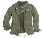 SURPLUS VINTAGE REGIMENT M65 JACKET WASHED CLASSIC PARKA US FIELD OLIVE GREEN