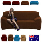 Solid Stretch Couch Cover for 1 Seater Recliner 2 Seater Loveseat, 3 Seater Sofa