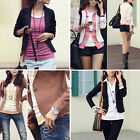 Fashion Womens Slim Casual / OL business Short Suit Blazer Jacket Coat Outerwear