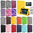 For Amazon Kindle Fire HD 7 /8.9 HDX Folding Leather Case Cover Stand Accessory