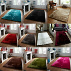 Think Rugs Sable Shaggy Hand Tufted Rug