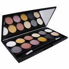 Technic Electric Beauty Metalix, 12 x Metallic Eyeshadow Eye Shadow Palette