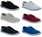 NEW MENS BOYS HENLEYS CANVAS SHOES PLIMSOLLS CANVAS PUMPS BEACH SHOE SUMMER 7-12