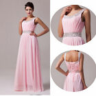 New Long Chiffon Prom Gown Evening/Formal/Party/Cocktail/Prom Dress