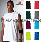 NEW BALANCE Men\'s Sleeveless ATHLETIC WORKOUT Gym T-Shirt dri-fit S-2X 3XL N7117