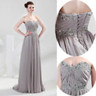 Women Formal Party Evening Cocktail Bridesmaids Prom Wedding Gowns Long Dresses