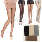 Girl Lady Women Open Toe Thin Transparent Thigh High Pantyhose Tights Hot OV