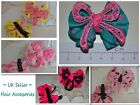 1x Hair Clip Bow Barrettes Alligator Accessories for Girls Children Kids Party