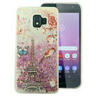 For Samsung Galaxy J2 Core Liquid Glitter Quicksand Hard Case Cover Accessory