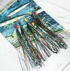 Koike  Multi / Coloured Star Rigs - Five Hook`s Size 1/0, in one`s or five`s