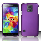 For Samsung Galaxy S5 HARD Rubberized HARD Protector Case Phone Cover Accessory