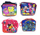 Mickey Minnie Strawberry Transformers Princess Lunch Bag Tote + Box ,Bottle