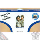 Iron-On Transfers. Novelty Gift Idea Undie Briefs Patches Badges SALE ITEM