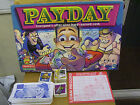 PAYDAY BOARD GAME SPARES VARIOUS PIECES ALL FREEPOST. CARDS, MONEY. VGC