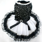 Small Dog Clothes Bow Tutu Princess Dress Skirt Pet Cat Party Wedding Dress