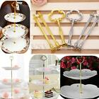 """3 Tier 14"""" Sunflower Cake Plate Stand Fitting Centre Handle Fitting Hardware Rod"""