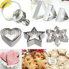 Stainless Steel Cookie Cutter Biscuit Pastry Fondant Cake Mold Mould Cake Decor