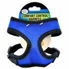 Four Paws Comfort Dog Harness  Breathable fit Mesh Material no tug control Blue