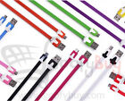 MICFLT-USBWIR- HTC SAMSUNG LG MICRO FLAT NOODLE SYNC USB Charging and Data cable