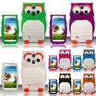 For Samsung Galaxy S4 i9500 3D Owl Silicone Case Cover