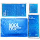 Koolpak Reusable Hot/Cold Gel Pack Sports First Aid Bruises/Bumps (Small - XL)