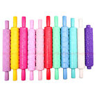 Mix Pattern Styles Rolling Pin Cake Fondant Gum Paste Decorating Sugarcraft Tool