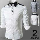 Men shirts Spring Polo casual T-shirts Slim Jersey shirt Stylish top 4 sizes