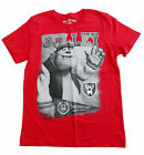 new EPIC THREADS youth L XL boys SULLEY DISNEY MONSTER'S INC. RED T-SHIRT nwt