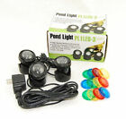 JEBAO SUBMERSIBLE LED LIGHT KIT FOR FISH POND UNDERWATER FOUNTAIN WATER GARDEN
