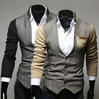 Top Designed Men Slim Fit Stand Collar Outwear Stylish Coats Tops Jackets