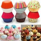 7.5cm XMAS Baking Paper Cupcake Cake Muffin Cases Liners Wedding Party WRAPPERS