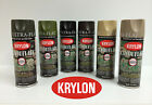 Krylon Camouflage Spray Paint - Set of 3 cans only - Black and choice of 2 other