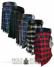 New Scottish Men's Real Tartan Kilts 13oz Men's 5 Yard Highland Traditional Kilt