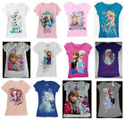 Disney Frozen t shirt NWT 4 5 6 6X 7 8 10 12 14 16  sold out in store
