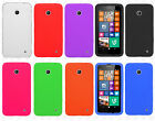 For Nokia Lumia 635 Rubber SILICONE Soft Gel Skin Phone Cover + Screen Protector