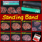 "Electric Nail Pen Drill Sanding Bands 30 Bits 80"" 120""180"" Art Pedicure Kit Set"