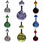 1Pc Chandelier Glass Crystals Lamp Prisms Hanging Pendants Wedding Decor 1.2''
